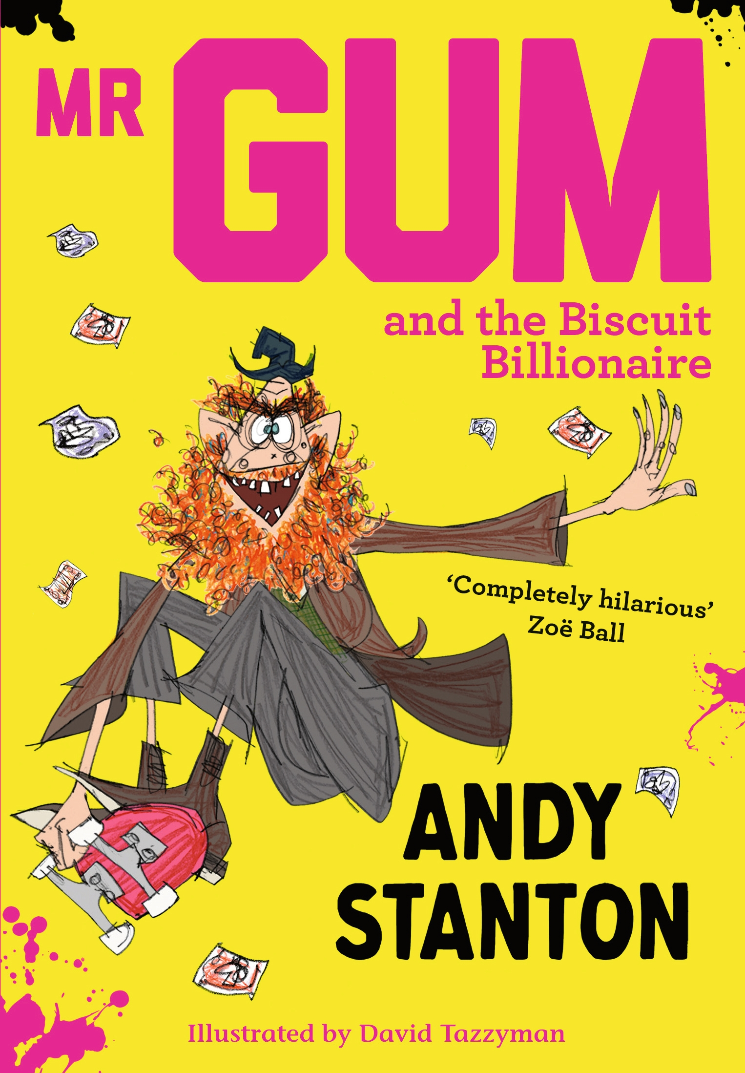Watch Andy Read Mr Gum and the Biscuit Billionaire