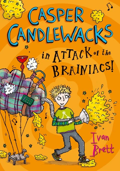 Casper Candlewacks in the Attack of the Brainiacs!