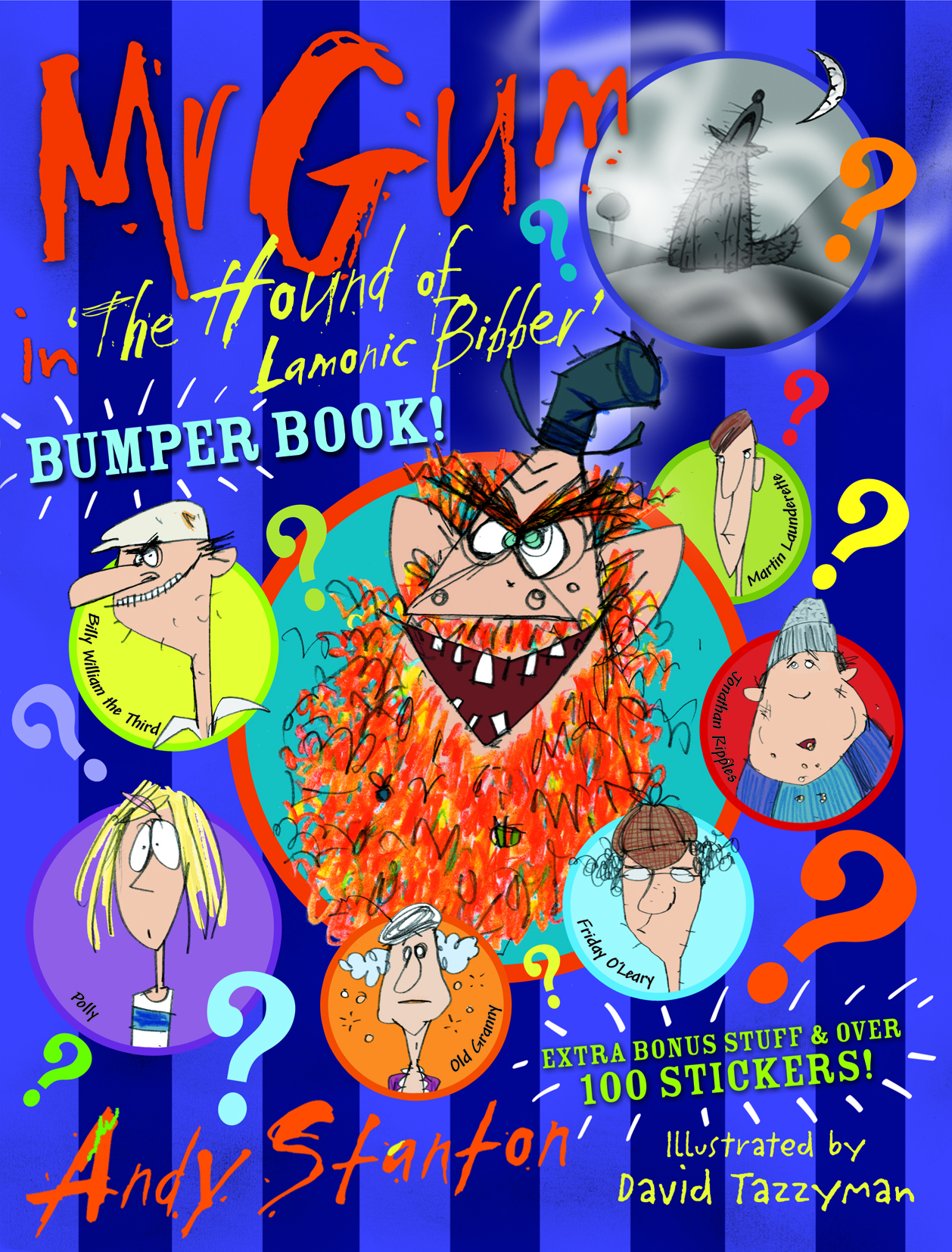 Mr Gum in The Hound of Lamonic Bibber Bumper Book