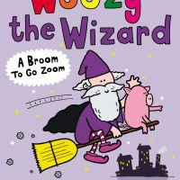 Woozy the Wizard - A Broom to go Zoom