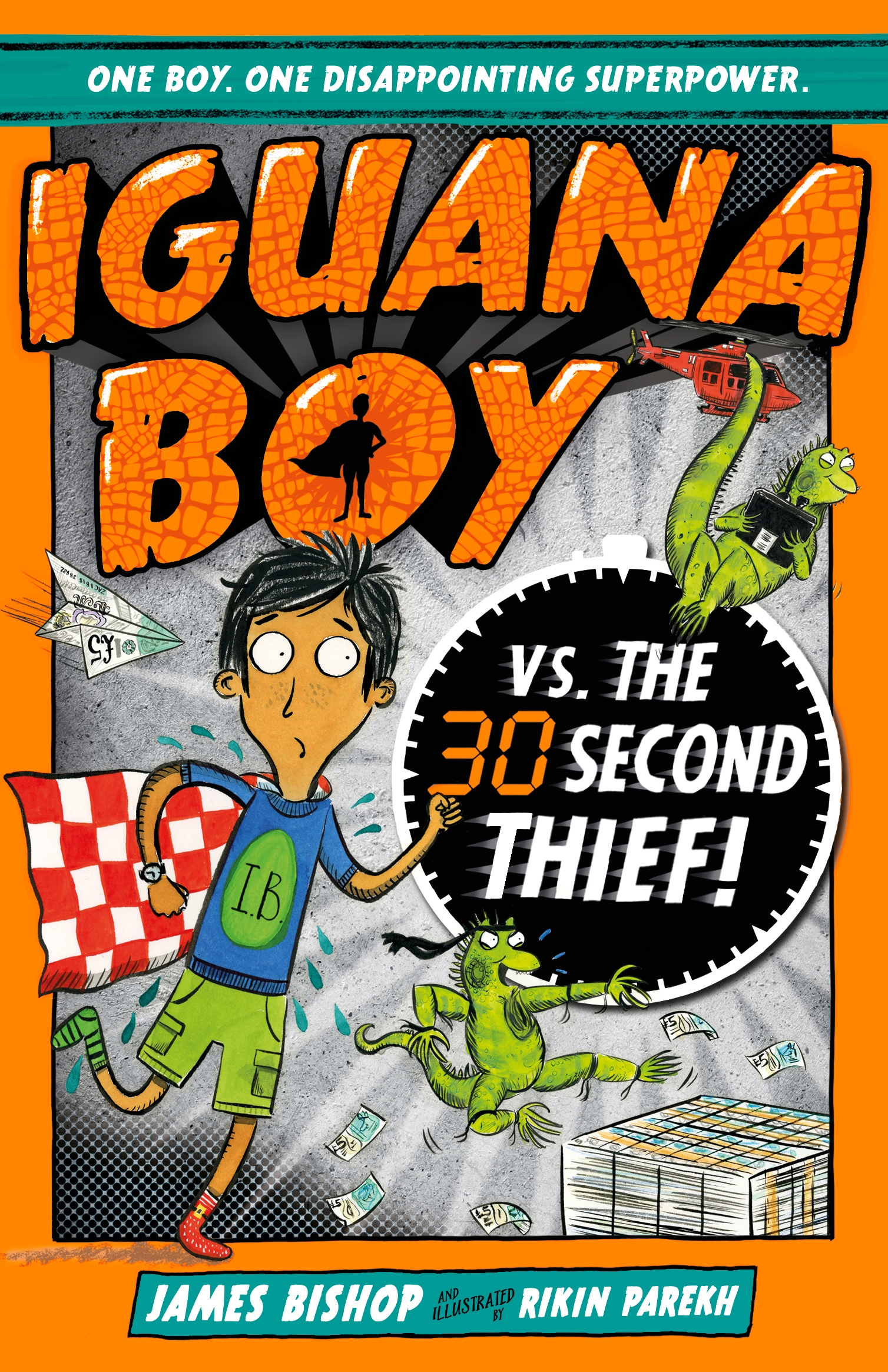 Iguana Boy Saves the World: In 30 Seconds or Less!