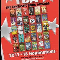 Kate's Giant Nominated for the Lancashire Fantastic Book Awards!