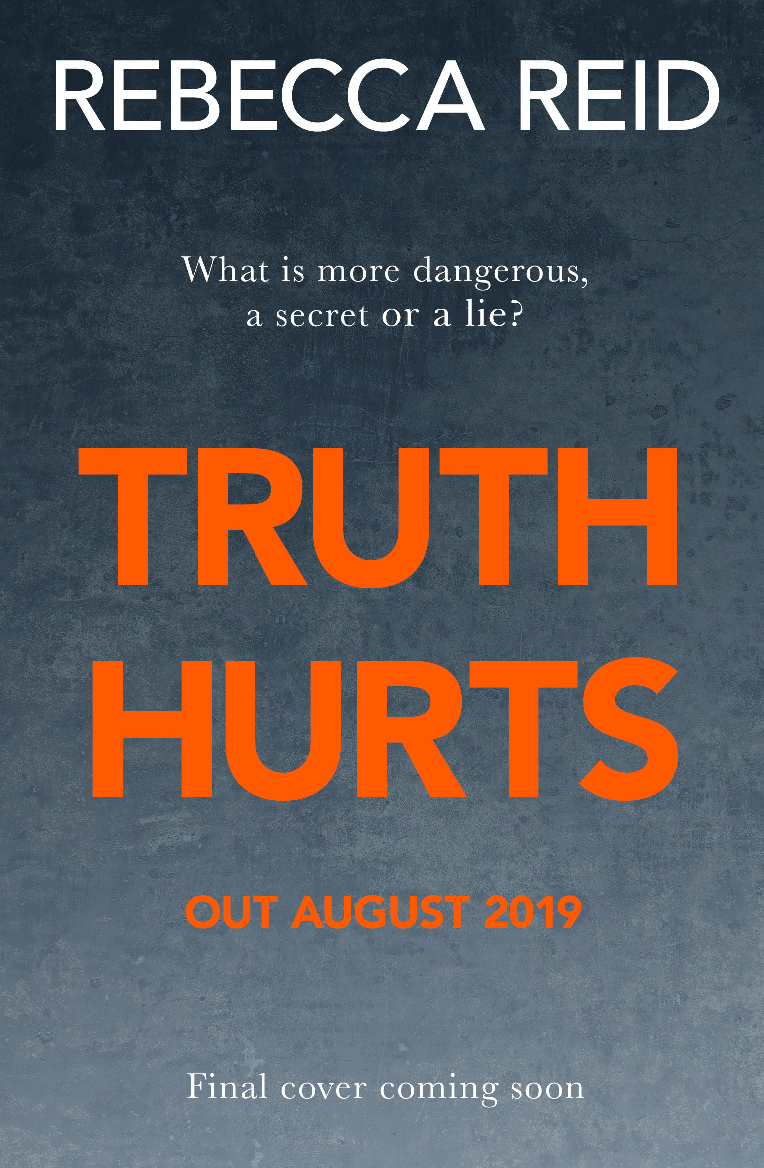 Truth Hurts holding cover